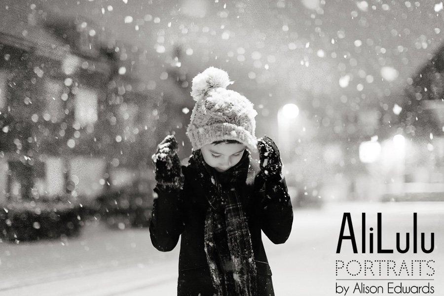 snowy photo in Nottingham