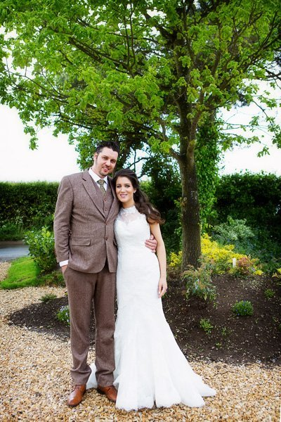 bride and groom south muskham nottingham