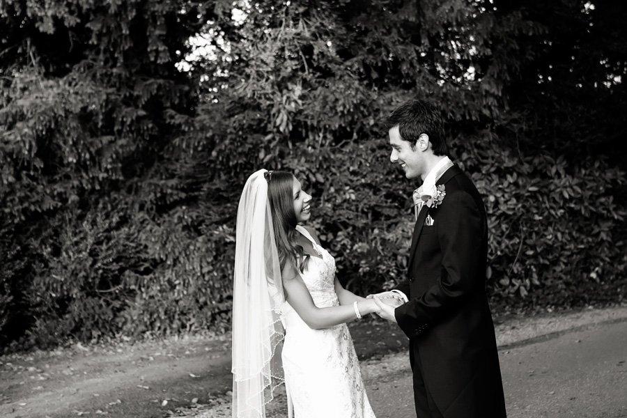 wedding photos at Norwood Park