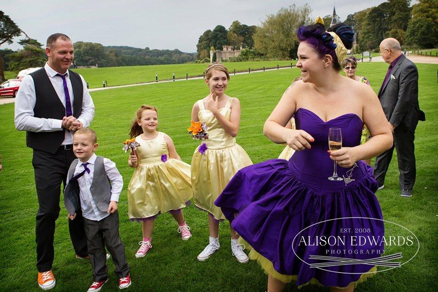 Newstead Abbey wedding photographer