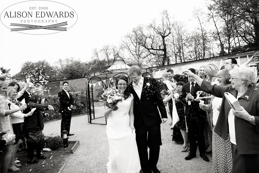 Wedding at The Walled Gardens Beestion