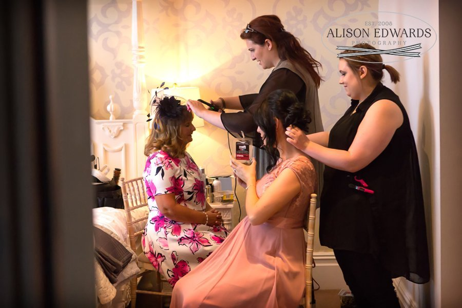 Old Vicarage Boutique Wedding Photographer - getting ready