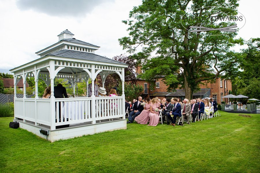 Old Vicarage Boutique Wedding Photographer - outdoor wedding ceremony