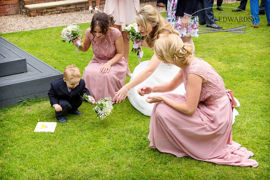 Old Vicarage Boutique Wedding Photographer - children at weddings