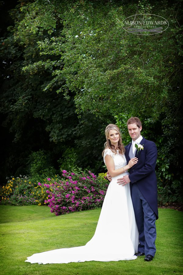 Old Vicarage Boutique Wedding Photographer - bride and groom portraits
