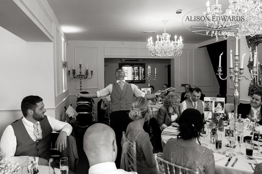 Old Vicarage Boutique Wedding the speeches