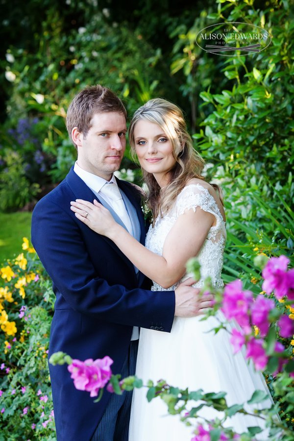 Old Vicarage Boutique Wedding bride and groom portraits