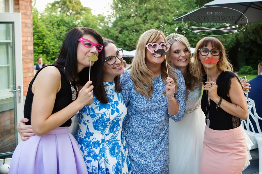 Old Vicarage Boutique Wedding wedding reception photo booth