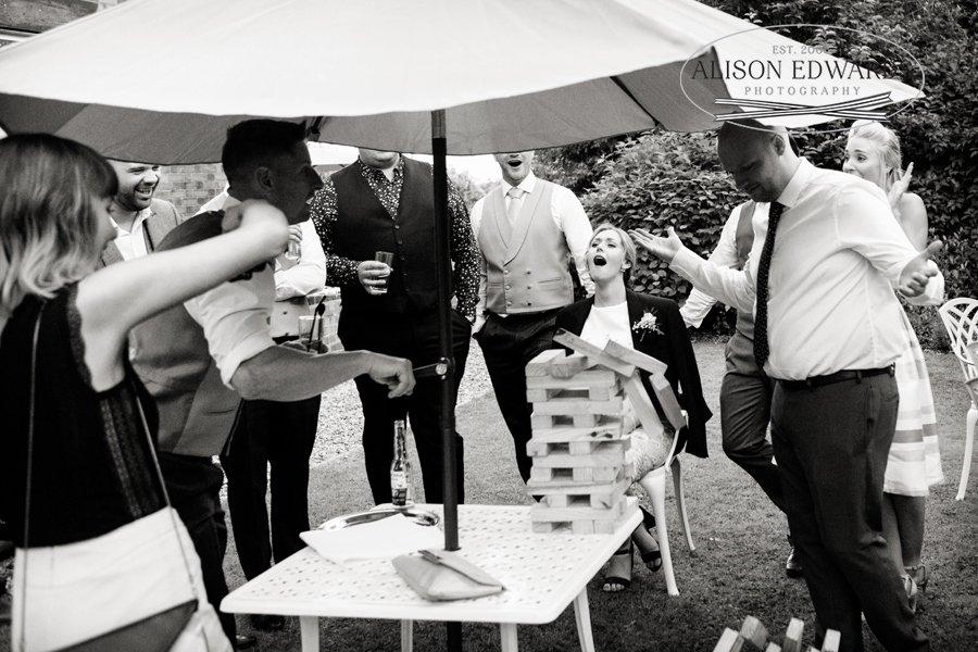 Old Vicarage Boutique Wedding wedding reception games