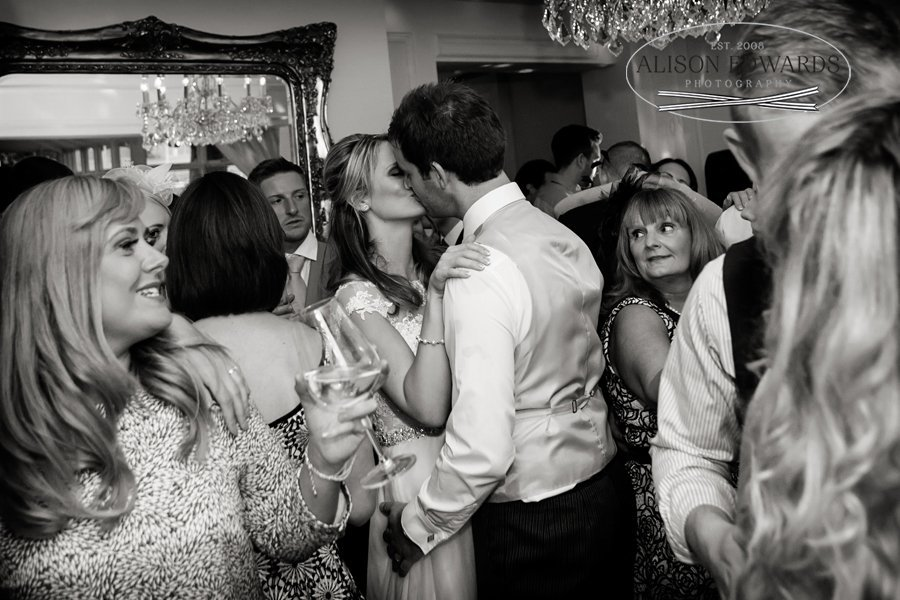 Old Vicarage Boutique Wedding first dance