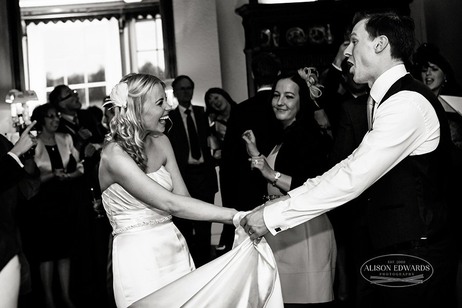 first wedding dance at Prestwold Hall
