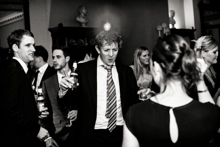 guest dancing at wedding nottingham