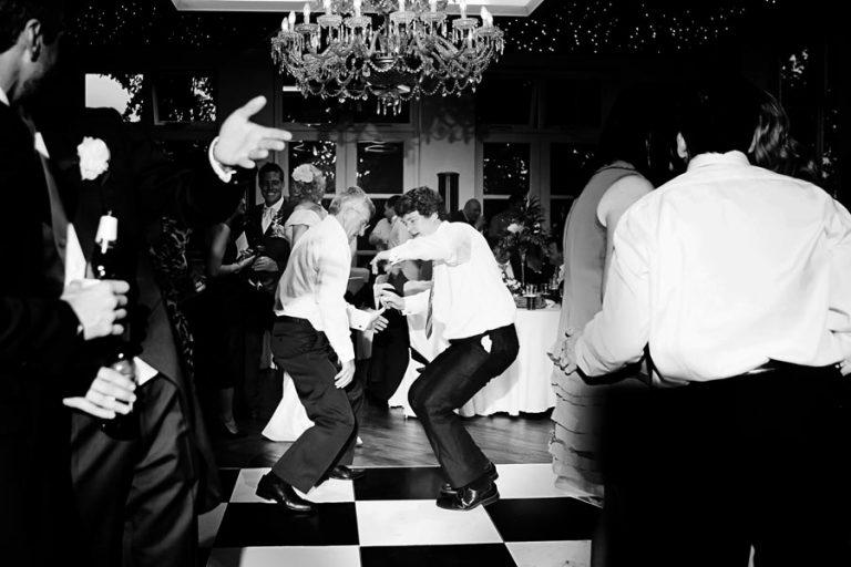 dancing at wedding at shuttle hall