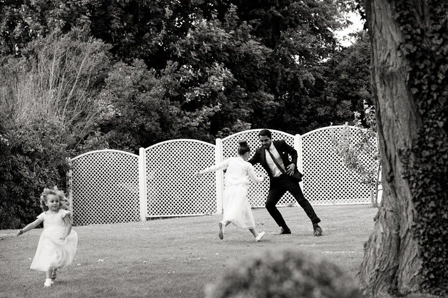 guests playing in gardens